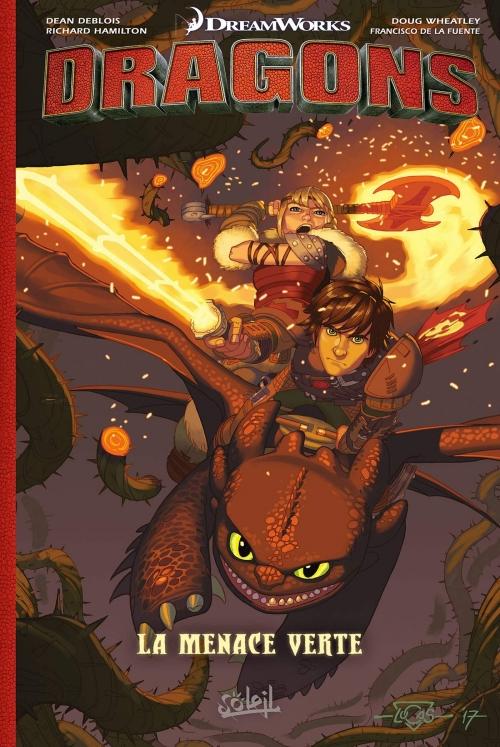 Couverture Dragons : La Menace verte