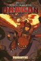 Couverture Dragons : La Menace verte Editions Dark Horse 2018