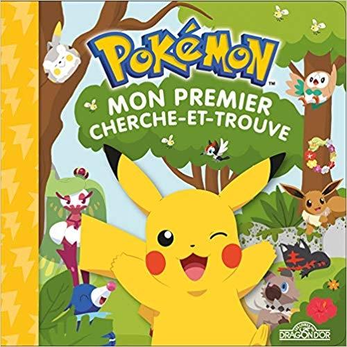 Couverture Pokémon : Mon premier cherche et trouve : Pikachu