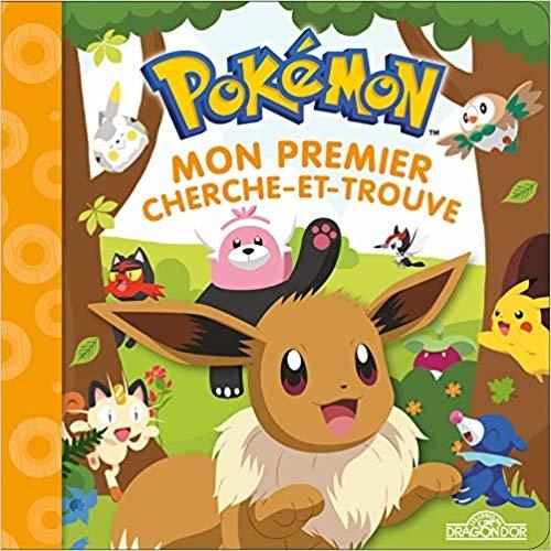 Couverture Pokémon : Mon premier cherche et trouve : Evoli