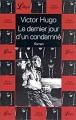 Couverture Le Dernier Jour d'un condamné Editions Librio 2003