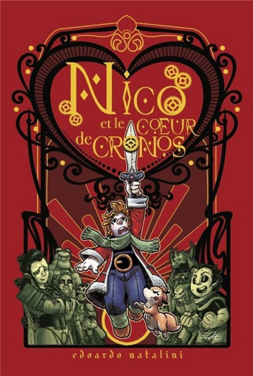 Couverture Nico et le coeur de Cronos