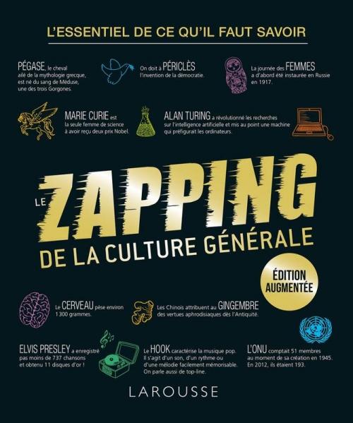 Couverture Le zapping de la culture générale