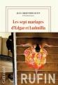 Couverture Les sept mariages d'Edgar et Ludmilla Editions Gallimard  2019