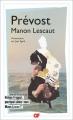 Couverture Histoire du chevalier Des Grieux et de Manon Lescaut / Manon Lescaut Editions Flammarion (GF) 2018