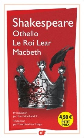 Couverture Othello, Macbeth, Le roi Lear