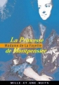 Couverture La Princesse de Montpensier Editions Mille et une nuits 2001