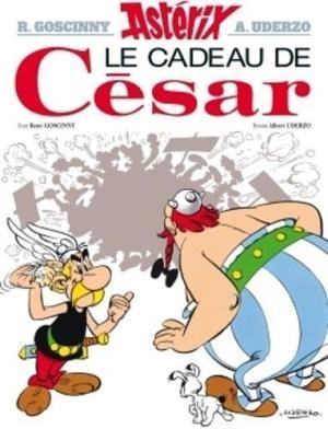 Couverture Astérix, tome 21 : Le cadeau de César