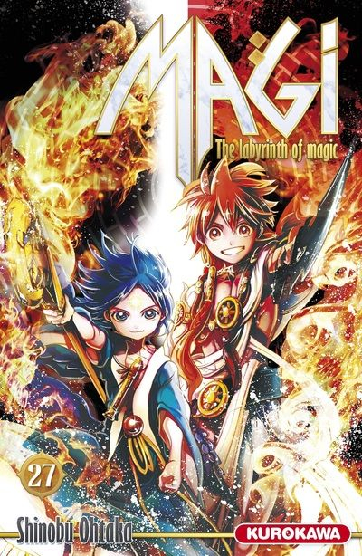 Couverture Magi : The Labyrinth of Magic, tome 27