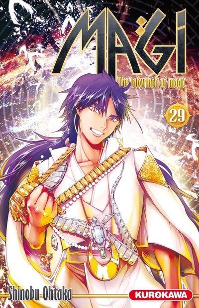 Couverture Magi : The Labyrinth of Magic, tome 29
