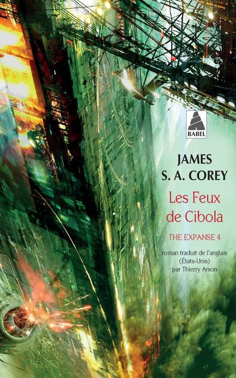 Corey James S. A. - The Expanse T4 - Les feux de Cibola Couv65410803