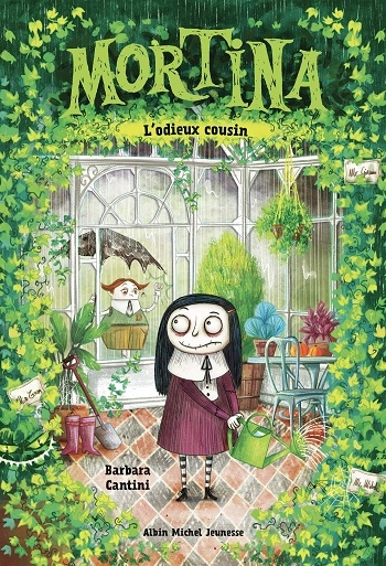 Couverture Mortina, tome 2 : L'odieux cousin