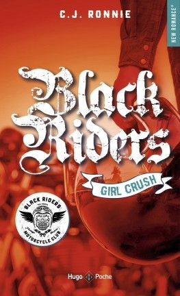 Couverture Black riders, tome 2 : Girl crush