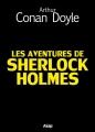 Couverture Les aventures de Sherlock Holmes Editions Asap 2012