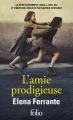 Couverture L'Amie prodigieuse, tome 1 Editions Folio  2018