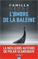 Couverture L'ombre de la baleine Editions Calmann-Lévy (Noir) 2019