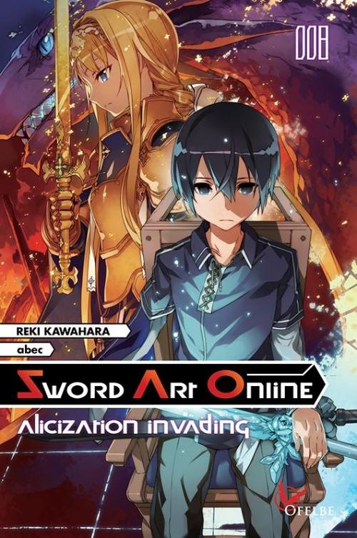 Couverture Sword art Online (roman), tome 8 : Alicization invading