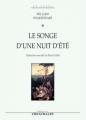 Couverture Le songe d'une nuit d'été Editions Théâtrales 2008