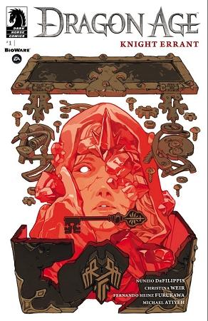 Couverture Dragon Age: Knight Errant, book 1