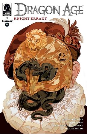Couverture Dragon Age: Knight Errant, book 4