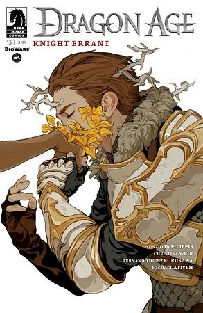 Couverture Dragon Age: Knight Errant, book 5