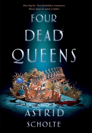 Couverture Four Dead Queens
