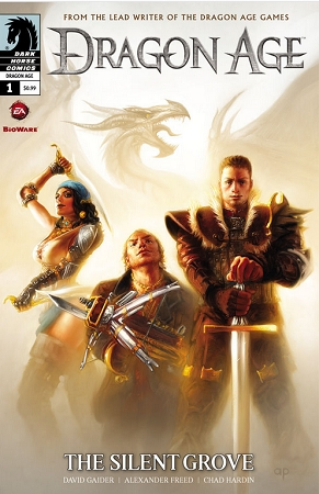 Couverture Dragon Age: The Silent Grove, book 1
