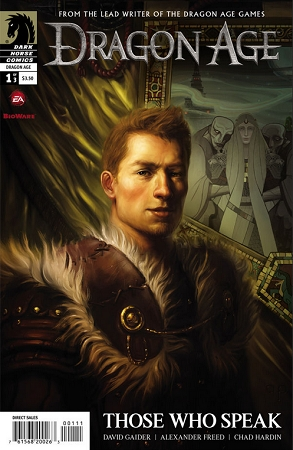 Couverture Dragon Age: Those Who Speak, book 1