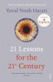 Couverture 21 leçons pour le XXIe siecle Editions Vintage 2019
