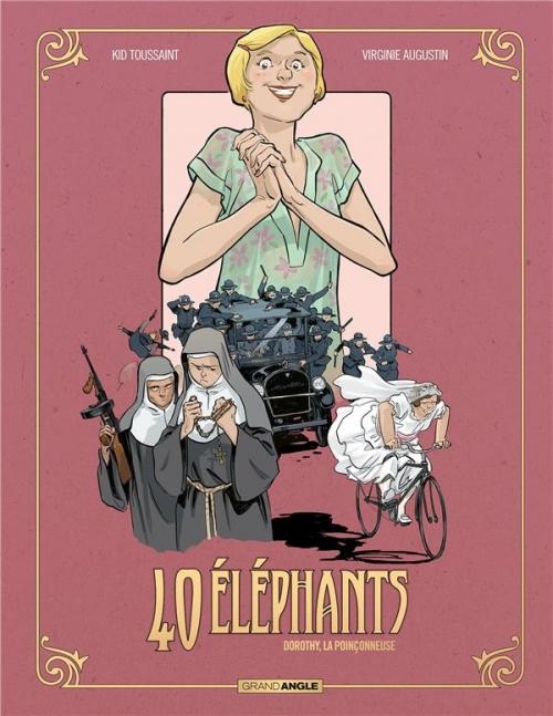 Couverture 40 éléphants, tome 3 : Dorothy, la poinçonneuse
