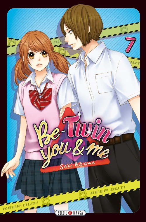 Couverture Be-twin you & me, tome 7