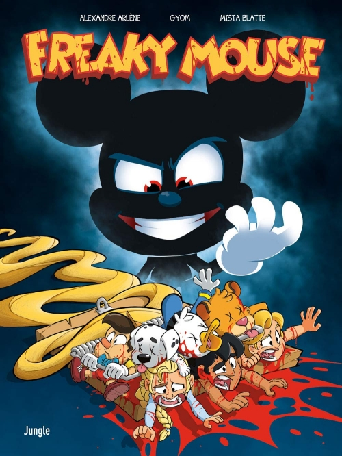 Couverture Freaky mouse