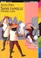 Couverture Sans famille (2 tomes), tome 1 Editions Folio  (Junior - Edition spéciale) 2000