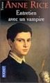 Couverture Chroniques des vampires, tome 01 : Entretien avec un vampire Editions Pocket (Terreur) 1990