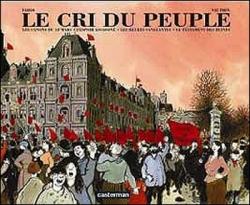 Couverture Le cri du peuple, intégrale