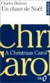 Couverture Un chant de Noël / Le drôle de Noël de Scrooge Editions Folio  (Bilingue) 1997