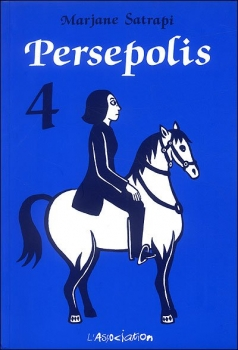 Couverture Persepolis, tome 4
