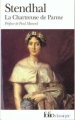 Couverture La chartreuse de Parme Editions Folio  (Classique) 2003