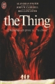 Couverture The Thing Editions J'ai lu 1982