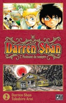 Couverture Darren Shan, tome 02 : L'Assistant du vampire