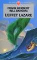 Couverture Programme conscience, tome 3 : L'Effet Lazare Editions Le Livre de Poche 1999