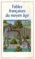 Couverture Fables françaises du moyen âge Editions Flammarion (GF - Bilingue) 1997