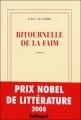 Couverture Ritournelle de la faim Editions Gallimard  (Blanche) 2008