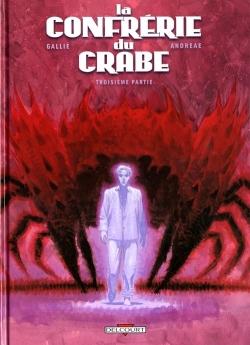Couverture La confrérie du crabe, tome 3