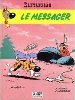 Couverture Rantanplan, tome 09 : Le Messager