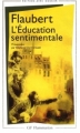 Couverture L'Education sentimentale Editions Flammarion (GF) 2003
