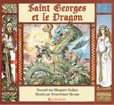 Couverture Saint Georges et le Dragon