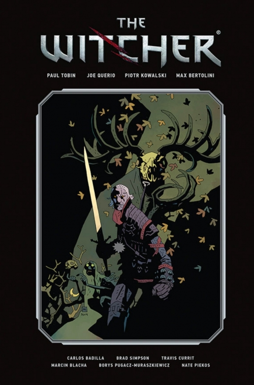 Couverture The Witcher: Library Edition, book 1