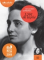 Couverture L'art de la joie Editions Audiolib 2019