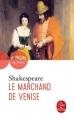 Couverture Le marchand de Venise Editions Le Livre de Poche (Théâtre de poche) 2017